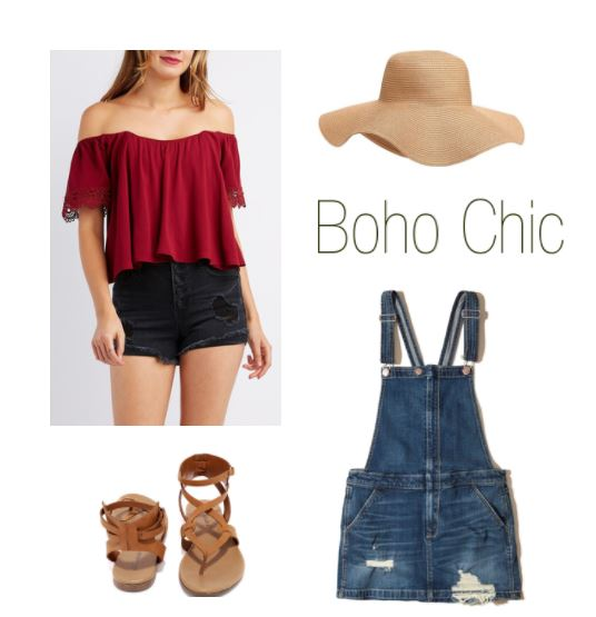 Bohemian outfit for the 4th of July
