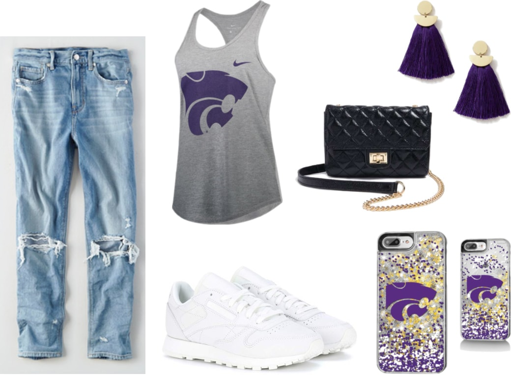 Kansas State Tailgating Outfit idea