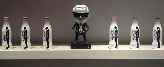 Karl Lagerfeld coke