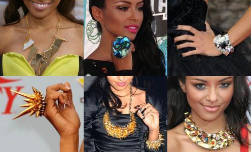 Kat Graham's Statement Making Jewelry