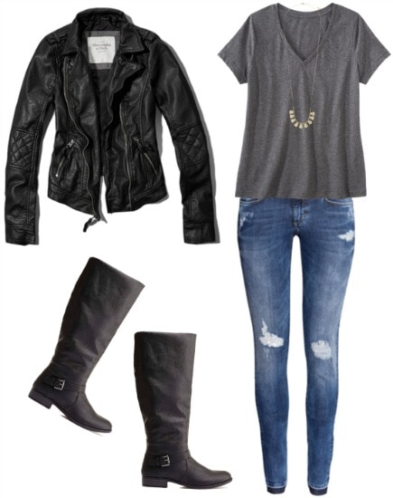 Kate beckett tee outfit