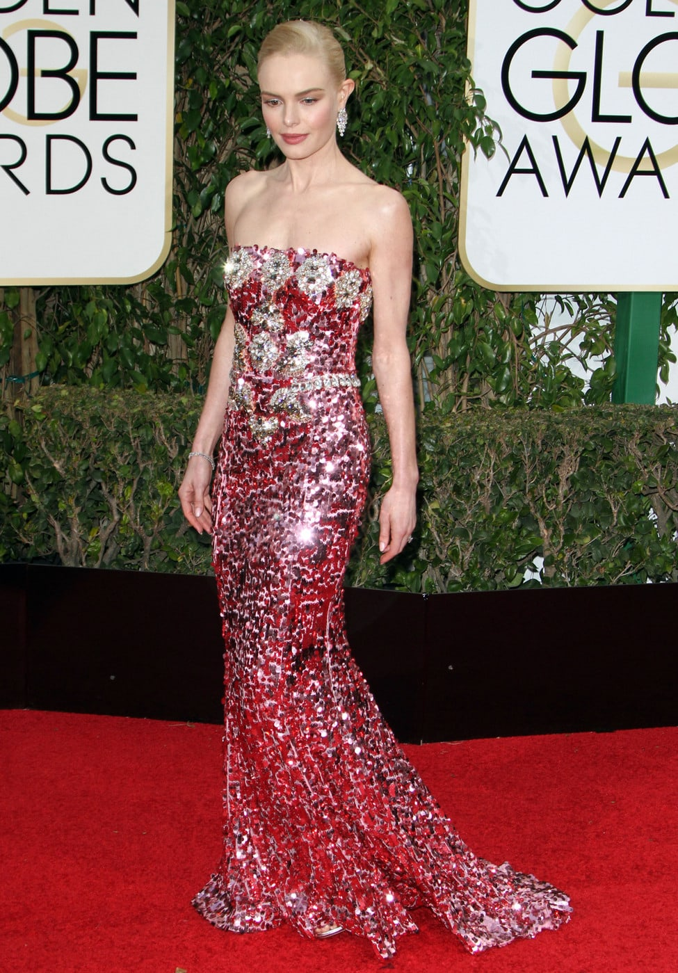 Kate Bosworth at the 2016 Golden Globes