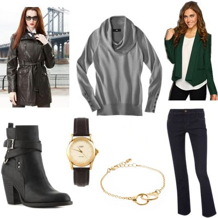 Outfit inspired by Kate from Castle