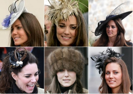 Kate Middleton's Hair Accessories & Hats