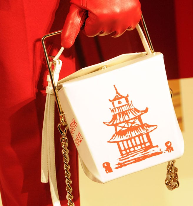 Kate Spade Chinese Takeout box