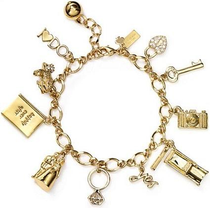 Kate spade kiss a prince charm bracelet