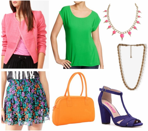 Kate spade spring 2013 outfit 1