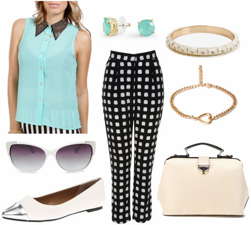 Kate spade spring 2013 outfit 2