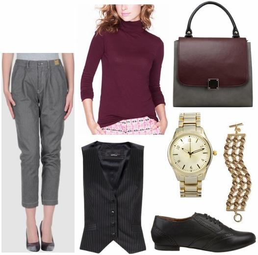 Katharine Hepburn Inspired Outfit 1