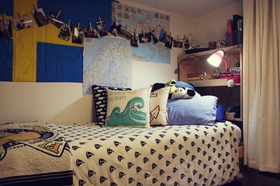 Katie's Dorm at UC Santa Cruz