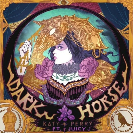 Katy perry dark horse single cover
