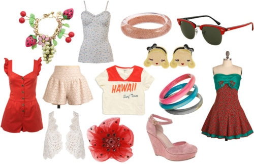 Katy Perry clothing and accessories