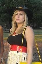 Kayla, a fashionable college student attending Georgia Southern University