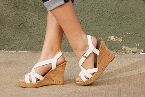 wedge sandals at point park university