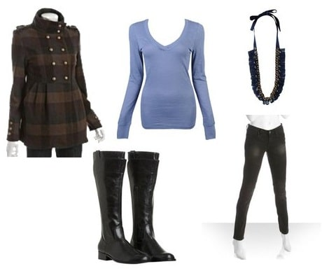 Outfit for cold weather
