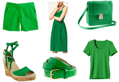 kelly green spring 2012 color trend
