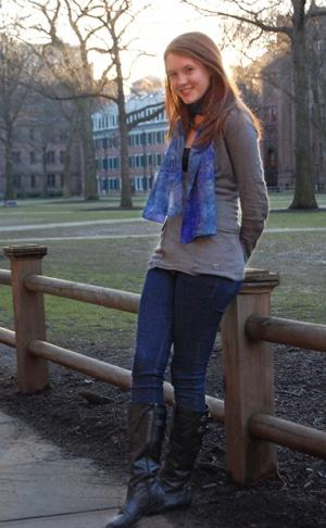 Kelly's fabulous college fashion street style