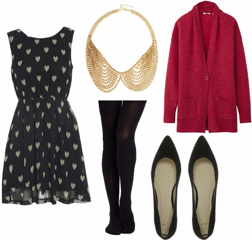 Kelly Wearstler Fall 2012 RTW Inspired Outfit 1
