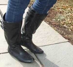 Kelly's fabulous riding boots