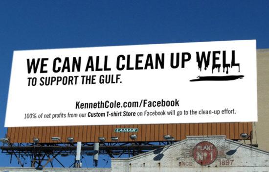 Kenneth Cole billboard