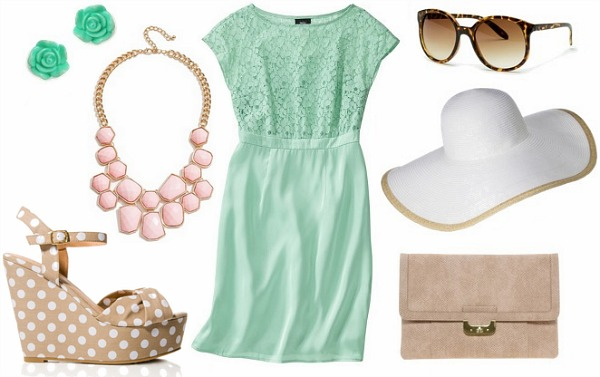Kentucky derby inspired outfit 1