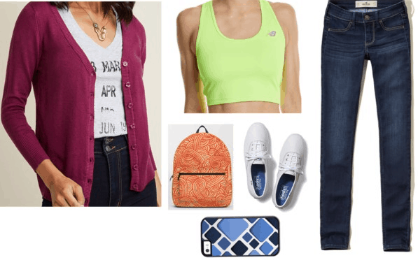 kim possible inspired outfit