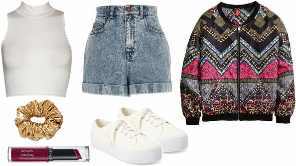 Kimbra 90s music outfit