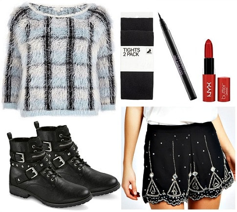 Kimbra madhouse inspired outfit