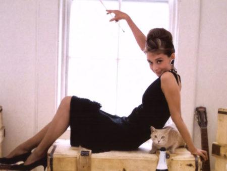 Audrey Hepburn in Kitten Heels