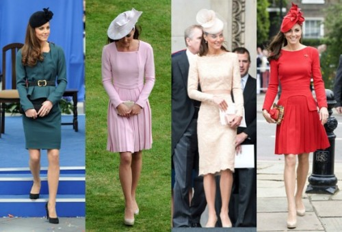 Kate Middleton Diamond Jubilee outfits
