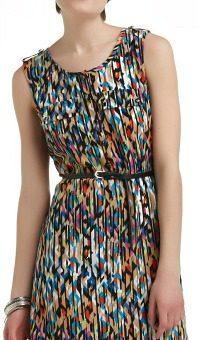 Kmart abstract print dress