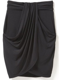 ab00db943e Fabulous Find of the Week: Kmart Draped Skirt - College Fashion