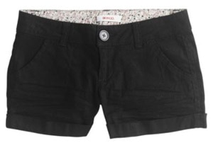 Kmart black shorts