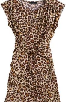 Kmart leopard print sheath dress