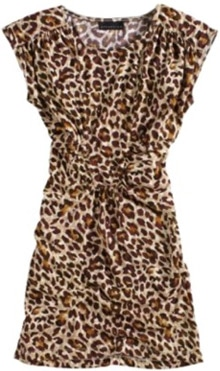 Kmart leopard print sheath dress