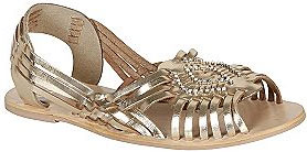 Kmart metallic sandals - RB2 by Rebels Women's Mira in Gold