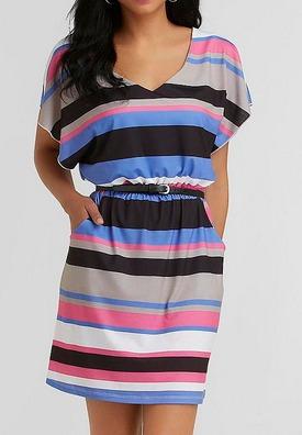 Kmart striped dress