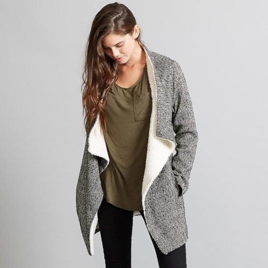 Kmart Adam Levine Wool Jacket with Sherpa Lining