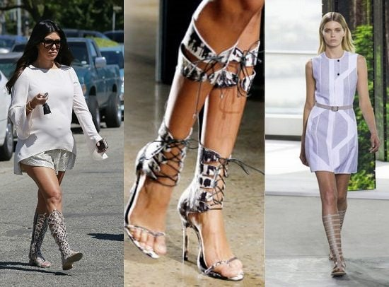 Knee-High-Sandals