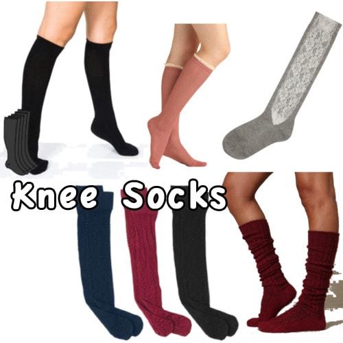 knee socks trend