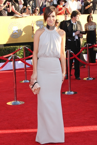 Kristen Wiig in Balenciaga at the 2012 Screen Actor's Guild Awards
