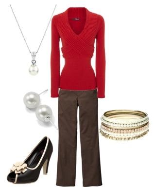 Kristina Davis outfit 2