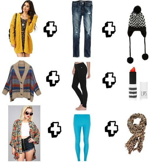 Kurt Cobain inspired casual outfits