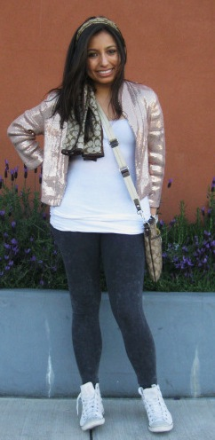 Miros, our college fashionista of the week