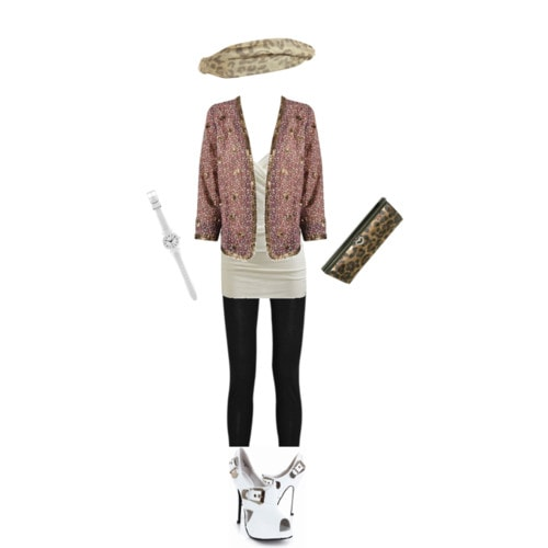 Outfit inspired by Miros fashionable street style