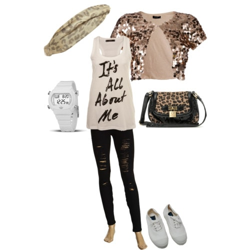 Outfit inspired by our college fashionista