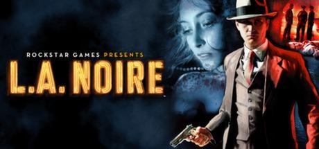 L.A Noire Video Game logo