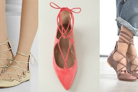 Lace-Up-Flats-Trend