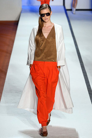 A look from the Lacoste Spring 2011 RTW collection