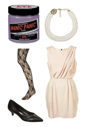 Ladylike Outfit Lavender Hair